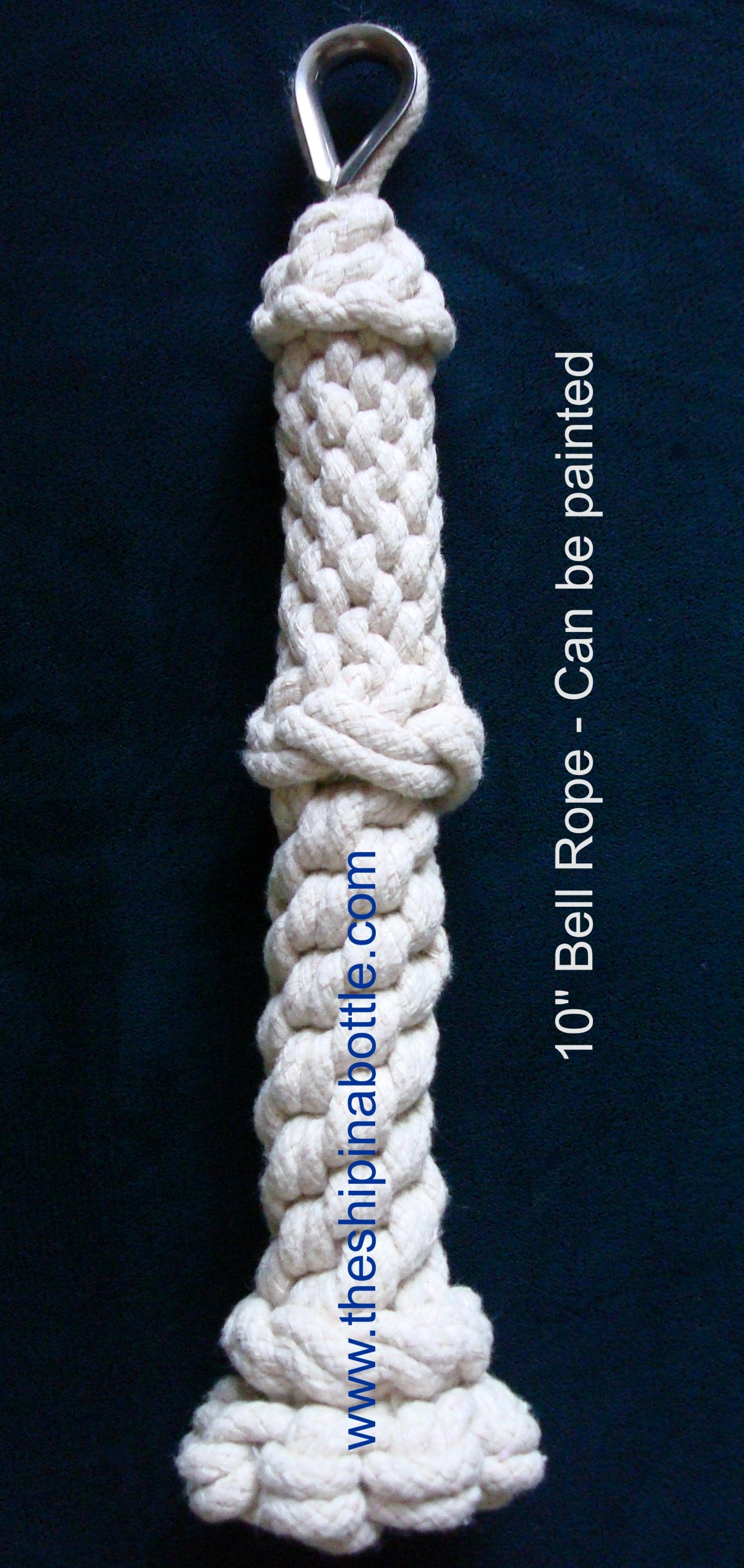 10 Inch Bell Rope with Thimble