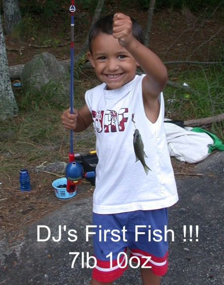 DJ's First Fish!!