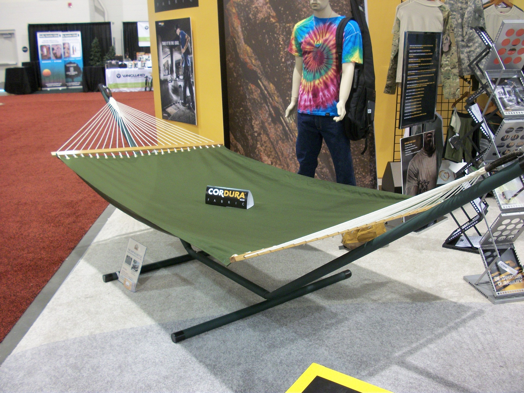 THE Ship in a Bottle Hammock on Display at CORDURA(R) Exhibit