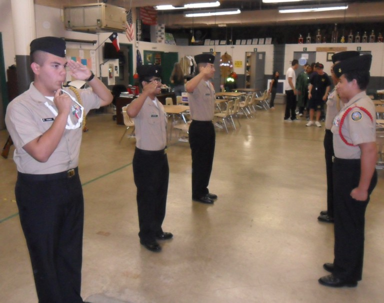 Mayde Creek High Navy JROTC Unit