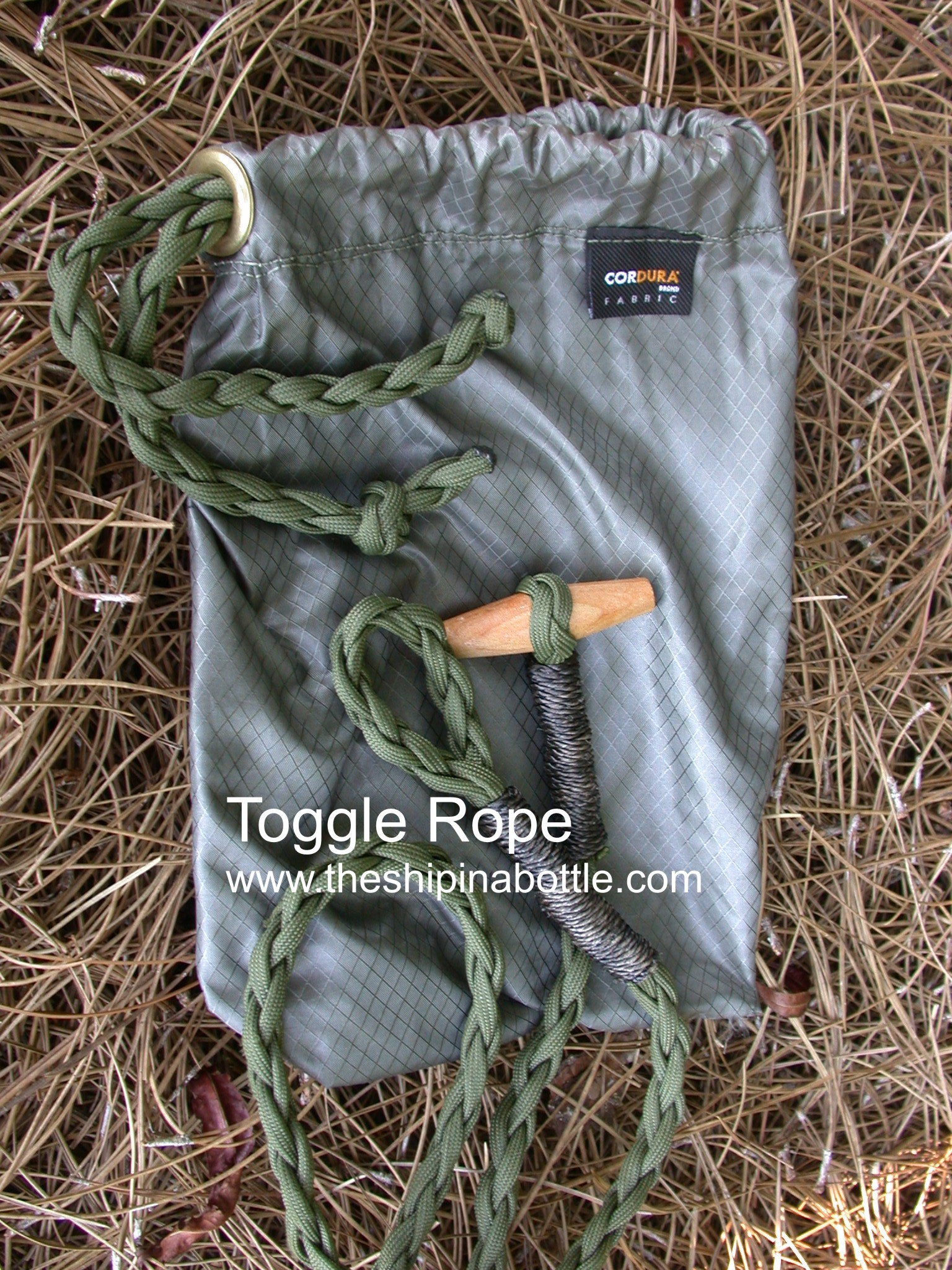 Medium image of our own very unique toggle rope   www theshipinabottle