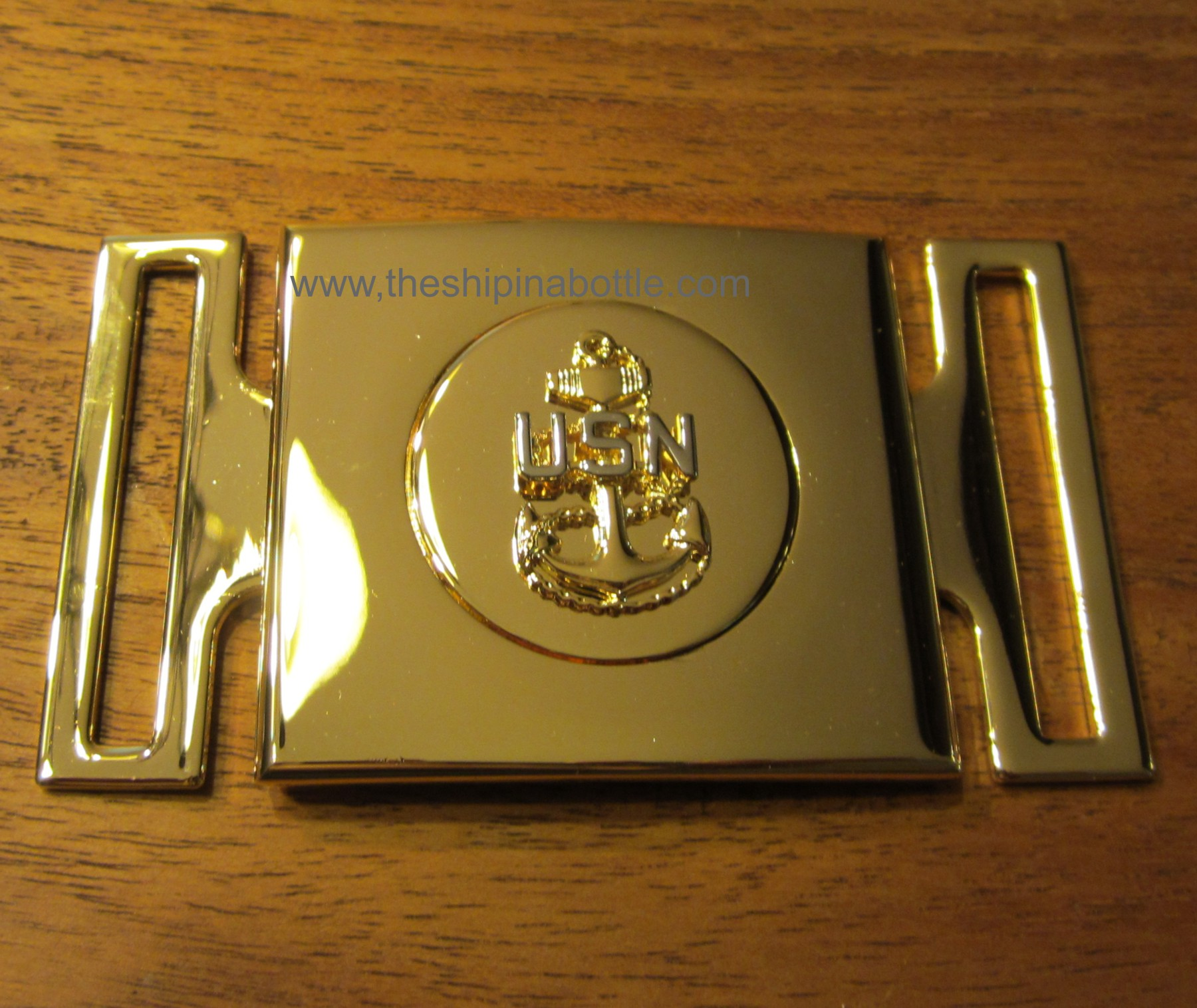 Newly Authorized CPO Buckle for Belt worn with CPO Cutlass