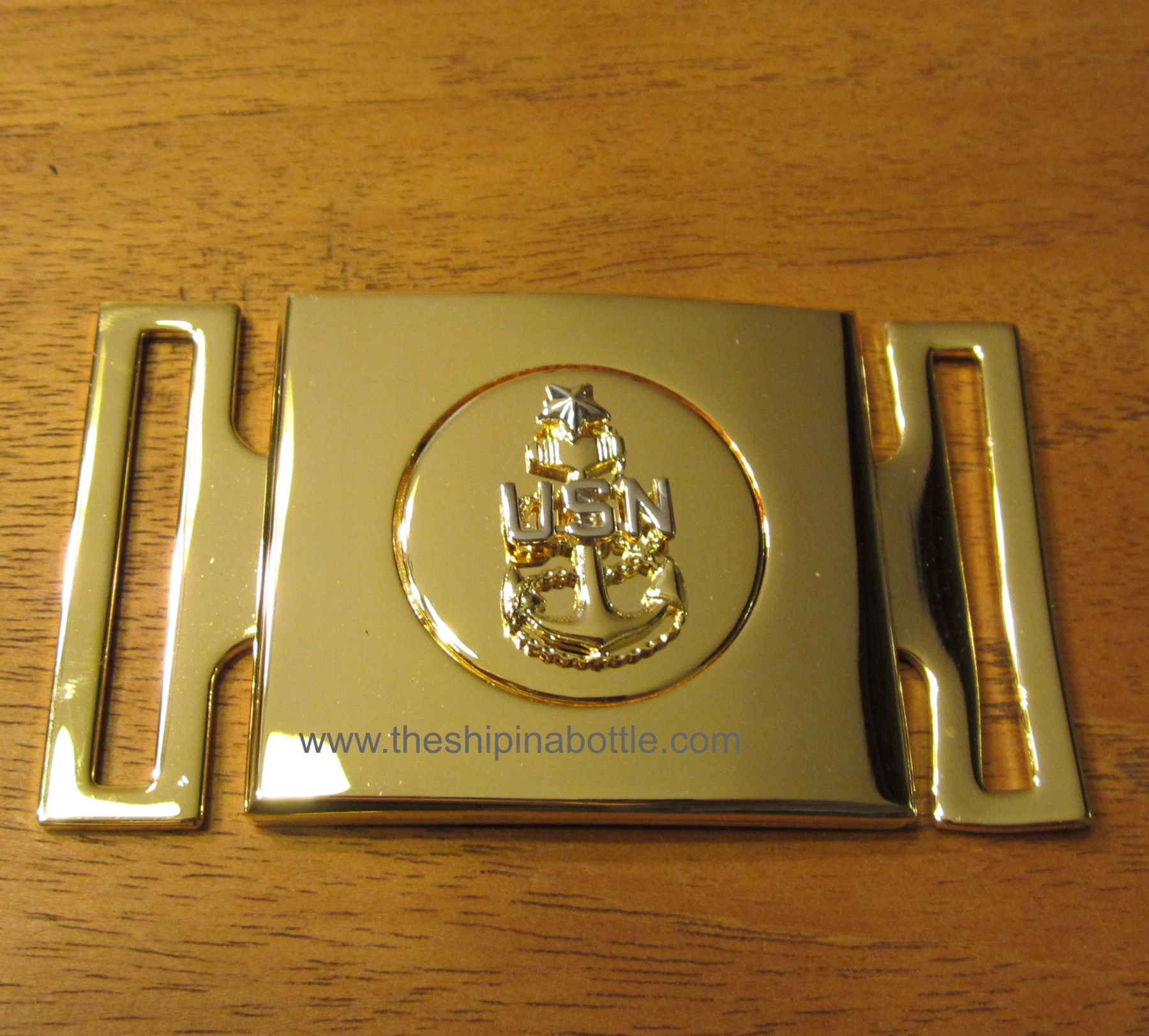 Newly Authorized SCPO Buckle for Belt worn with CPO Cutlass