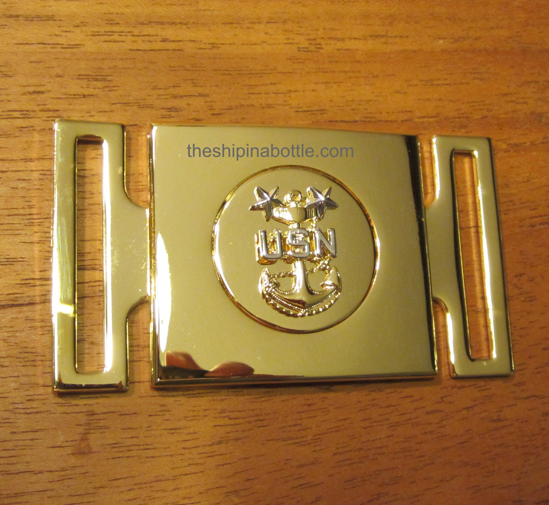 Newly Authorized MCPO Buckle for Belt worn with CPO Cutlass
