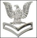 E5 - Second Class Petty Officer Mirror Finish - Cap Insignia