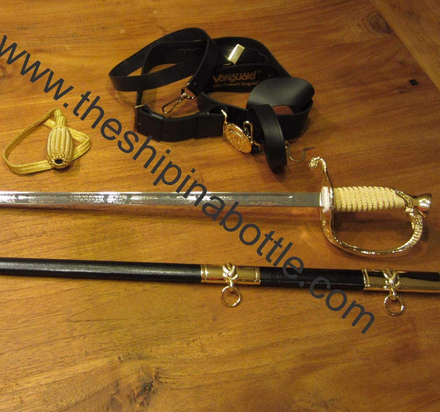 BUY the Authentic Vanguard Premium Officers Sword Package